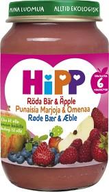 Bild på HiPP Fruktpuré Röda Bär & Äpple 6M 190 g