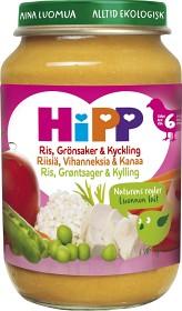 Bild på HiPP Ris Grönsaker & Kyckling 6M 190 g
