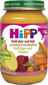 Bild på HiPP Rotfrukter med Kött 6M 190 g