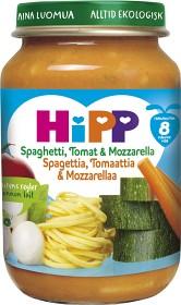 Bild på HiPP Spaghetti Tomat & Mozzarella 8M 190 g
