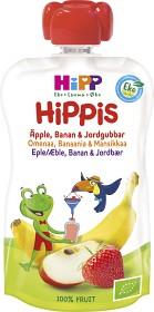 Bild på HiPPis Smoothie Äpple Banan & Jordgubbar 6M 100 g