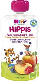 Bild på HiPPis Smoothie Äpple Persika Blåbär & Hallon 6M 100 g