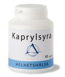 Bild på Helhetshälsa Kaprylsyra 90 kapslar
