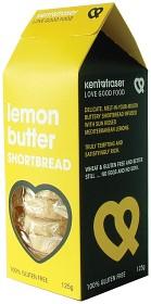 Bild på Kent & Fraser Smördegskakor Citron 125 g