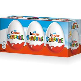Bild på Kinder Ägg Surprise 3 p 60 g