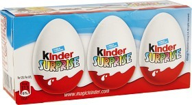 Bild på Kinder Ägg Surprise 3 p 60 g
