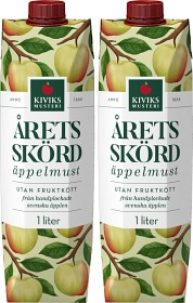Bild på Kiviks Årets Skörd Äppelmust utan Fruktkött 2x1 L
