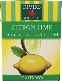 Bild på Kiviks Lättdryck Citron Lime 2 dl