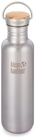 Bild på Klean Kanteen 800 ml Reflect with Bamboo Cap Brushed Stainless