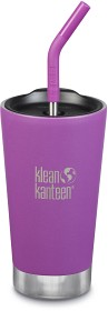 Bild på Klean Kanteen Insulated Tumbler 473ml with Straw Lid Berry Bright