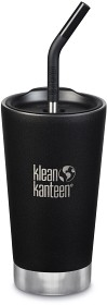 Bild på Klean Kanteen Insulated Tumbler 473ml with Straw Lid Shale Black