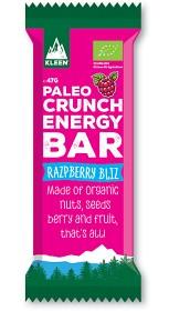Bild på Kleen Paleo Crunch Energy Bar Razpberry Bliz 47g