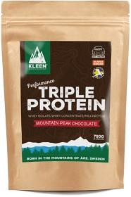 Bild på Kleen Triple Protein Mountain Peak Chocolate 750 g