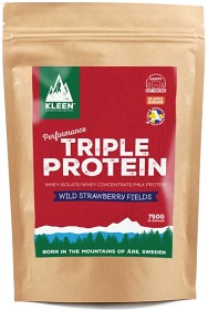 Bild på Kleen Triple Protein Wild Strawberry Fields 750 g