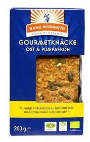 Bild på Kung Markatta Gourmetknäcke Ost & Pumpa 200 g