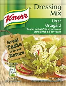 Bild på Knorr Dressingmix Örtagård 3x1 dl