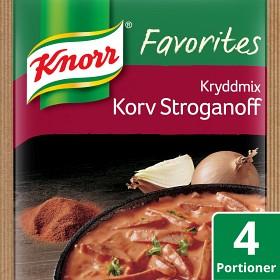 Bild på Knorr Matmix Korvstroganoff 50 g / 4 p