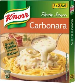 Bild på Knorr Pastasås Carbonara 3x2,5 dl