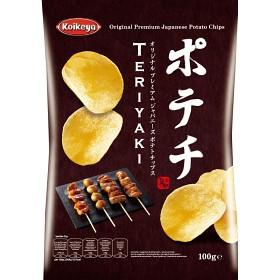 Bild på Koikeya Potechi Teriyaki Chips 100g