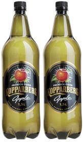 Bild på Kopparberg Äpple Cider Alkoholfri 2x1,5 L inkl. Pant