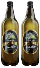 Bild på Kopparberg Fläder & Lime Cider Alkoholfri 2x1,5 L inkl. Pant