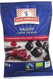 Bild på Kung Markatta Hallon i Mörk Choklad 50 g
