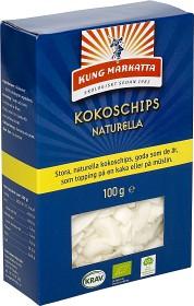 Bild på Kung Markatta Kokoschips Naturella 100 g