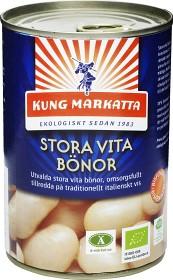 Bild på Kung Markatta Stora Vita Bönor på Burk 400 g