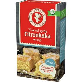 Bild på Kungsörnen Kakmix Citronkaka 420 g