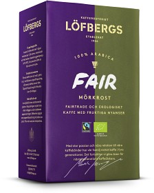 Bild på Löfbergs Kaffe FAIR Mörkrost 450 g