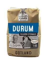 Bild på Labans Kvarn Durum Fullkorn 1 kg