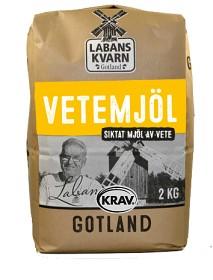 Bild på Labans Kvarn Vetemjöl 2 kg