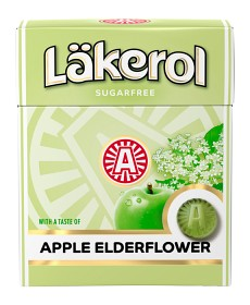Bild på Läkerol Apple & Elderflower 25 g