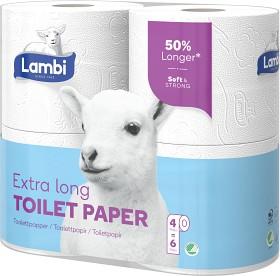 Bild på Lambi Extra Long Toalettpapper 4 p