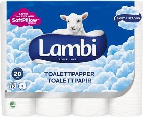 Bild på Lambi Toalettpapper Classic 12 p