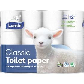 Bild på Lambi Toalettpapper Classic 12st