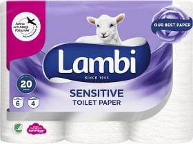 Bild på Lambi Toalettpapper Sensitive 6 p