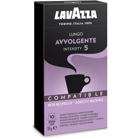 Bild på Lavazza Espressokapsel Lungo Avvolgente No 5 10p
