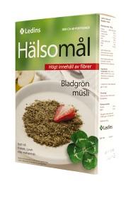 Bild på Ledins Hälsomål-bladgrön, kalorisnål musli 500 g