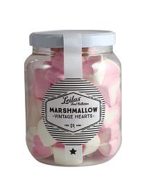 Bild på Leilas Marshmallow Vintage Hearts 250 g