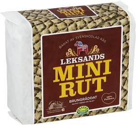 Bild på Leksands Knäckebröd Mini-Rut Brungräddat 200 g