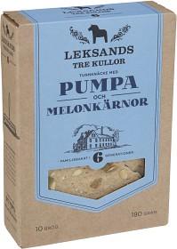 Bild på Leksands Knäckebröd Pumpa & Melonkärnor 180 g