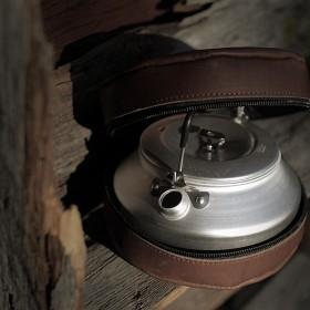 Bild på Lemmelkaffe Kaffepanna med Läderfodral