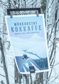 Bild på Lemmelkaffe Poster - Polarvinterljus/Kaamos