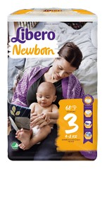Bild på Libero Newborn Blöjor Storlek 3, 68 st