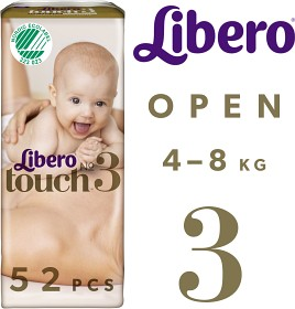 Bild på Libero Touch 3 (4-8 kg) 52 st