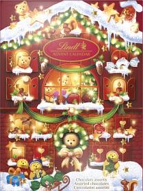 Bild på Lindt Adventskalender Teddy 172 g