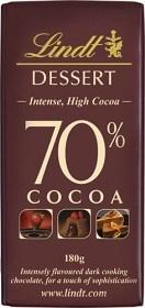 Bild på Lindt Dessert Bakchoklad 70% 180 g