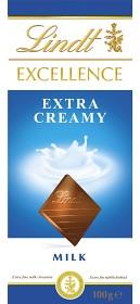 Bild på Lindt Excellence Extra Creamy 100 g