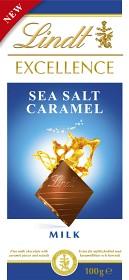 Bild på Lindt Excellence Sea Salt Caramel 100 g
